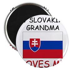 My Slovakian Grandma Loves Me Magnet