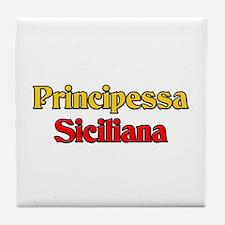 Principessa Siciliana Tile Coaster