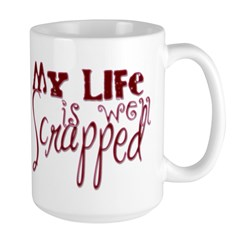 Well Scrapped Large Mug
