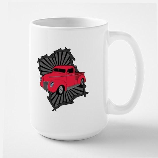 Classic Truck Large Mug