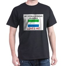 My Sierra Leonean Grandma Loves Me T-Shirt