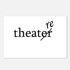 """Theatre Spelled """"re"""" Postcards (Package of 8)"""