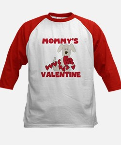 Dog Mommy's Valentine Kids Baseball Jersey