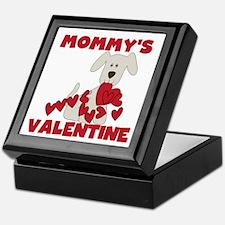 Dog Mommy's Valentine Keepsake Box