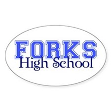Forks High - Oval Decal