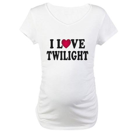 I L<3VE Twilight Maternity T-Shirt
