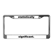 Unique Dorky License Plate Frame