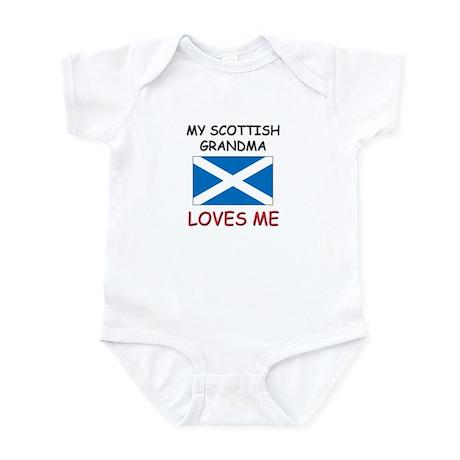 My Scottish Grandma Loves Me Infant Bodysuit