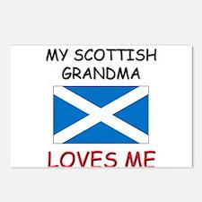 My Scottish Grandma Loves Me Postcards (Package of