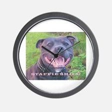 STAFFIE SMILE Wall Clock