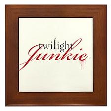 Cool Twilight junkie Framed Tile