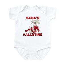 Dog Nana's Valentine Infant Bodysuit