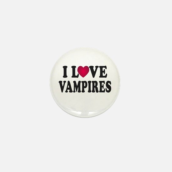 I L<3VE Vampires Mini Button