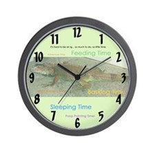 Funny Relocating Wall Clock