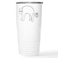 Mad Kitty Stainless Steel Travel Mug