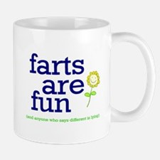 FARTS ARE FUN Small Small Mug