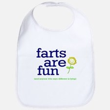 FARTS ARE FUN Bib