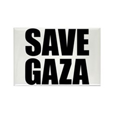 SAVE GAZA Rectangle Magnet