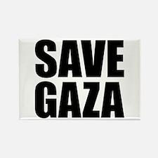 SAVE GAZA Rectangle Magnet