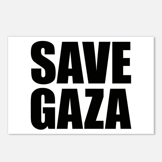 SAVE GAZA Postcards (Package of 8)