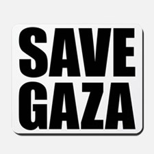 SAVE GAZA Mousepad