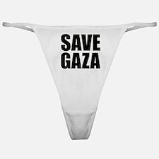 SAVE GAZA Classic Thong