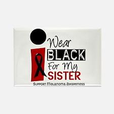 I Wear Black For My Sister 9 Rectangle Magnet