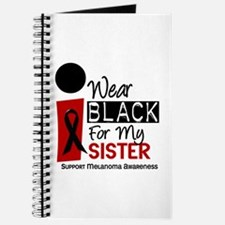 I Wear Black For My Sister 9 Journal