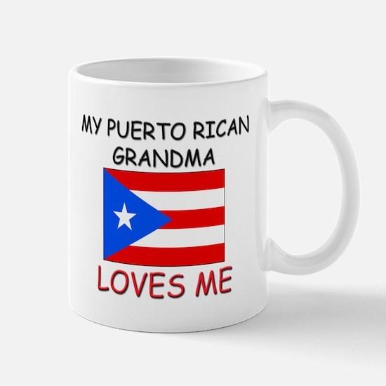 My Puerto Rican Grandma Loves Me Mug