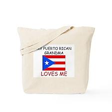 My Puerto Rican Grandma Loves Me Tote Bag