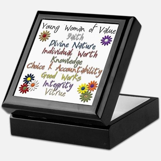 YW of Value Keepsake Box