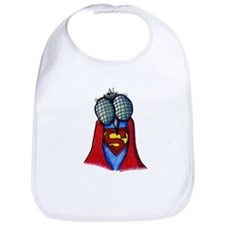 A Super Fly Illustration Bib
