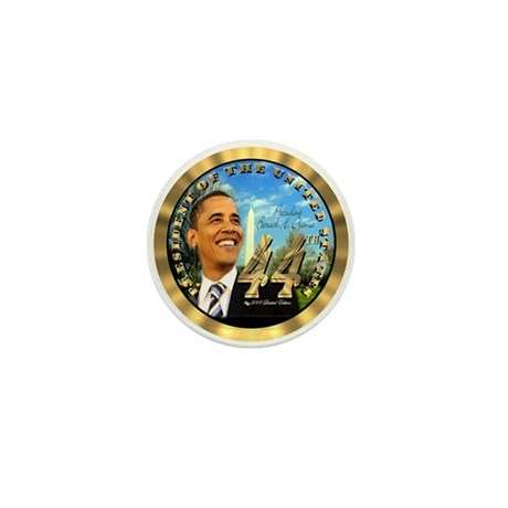 """Obama Inauguration"" Mini Button (10 pack)"