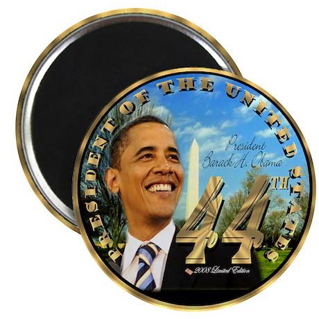 """Obama Inauguration"" Magnet"