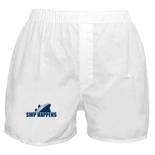 Ship Happens Boxer Shorts