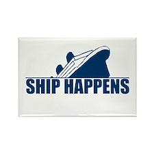 Ship Happens Rectangle Magnet