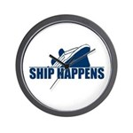 Ship Happens Wall Clock