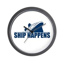 Ship Happens Wall Clock
