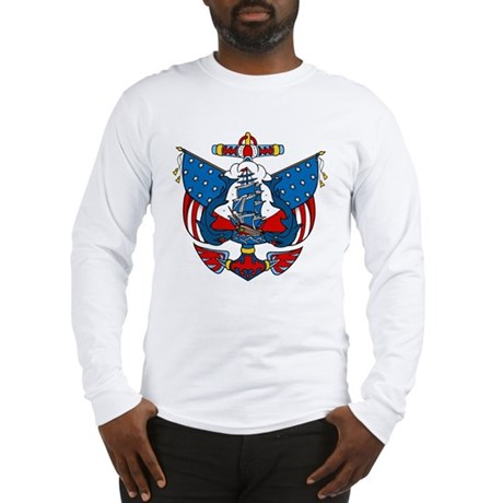 Pirate Ship Long Sleeve T-Shirt