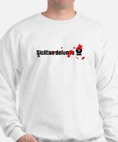 Sicilian Defense Chess Sweatshirt