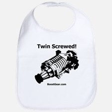 Twin Screwed! - Supercharger - Racing Baby Bib