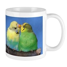 Playing Parakeet Small Mug