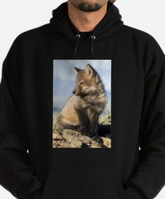 Cross Fox Digital Art Hoodie (dark)