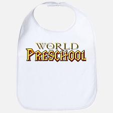 World of Preschool Bib