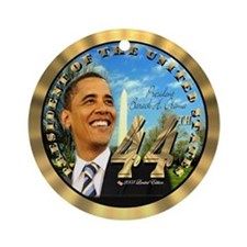 """Obama Inauguration"" Ornament (Round)"