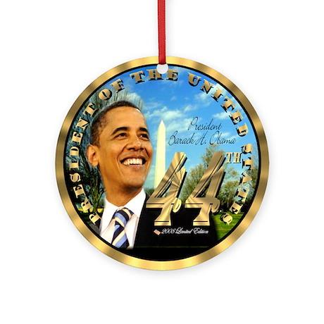 """Obama Inauguration"" Ornament (Round)"