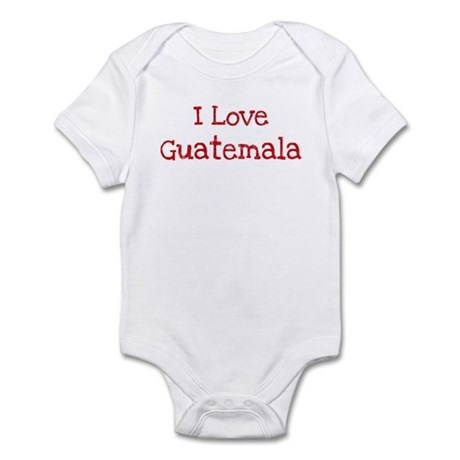 I love Guatemala Infant Bodysuit