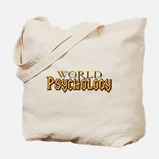 World of Psychology Tote Bag