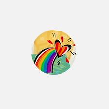 Unique Triangle Mini Button