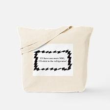 Cute Brain cancer Tote Bag